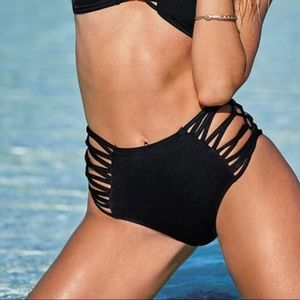 VS High Waist Strappy Swim Bottom